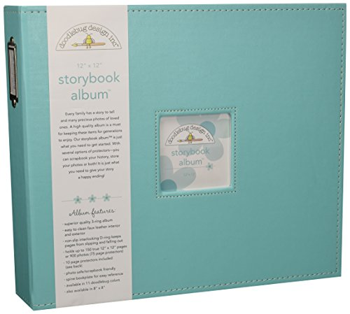 Doodlebug Storybook Album 12 Zoll x 12 Zoll, Schwimmbad