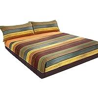 Juego de sábanas estampado Rayas PARKET (para cama de 90x190/200)