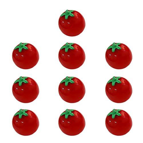 45 stücke 3D Kristall Puzzle Rote Tomate Geformt Modell Dekor Puzzles & Geduldspiele