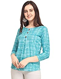 J B Fashion J B Women Printed Top with Full Sleeves for Fancy Top, Casual Wear, Under 399 Top for Women/Girls Top