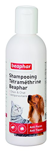 beaphar-shampooing-antiparasitaire-anti-puces-tiques-la-ttramthrine-chien-et-chat-200-ml