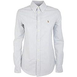 Ralph Lauren Luxury Fashion Mujer V33IOHRSC9203C41Y7 Blanco Camisa | Temporada Permanente