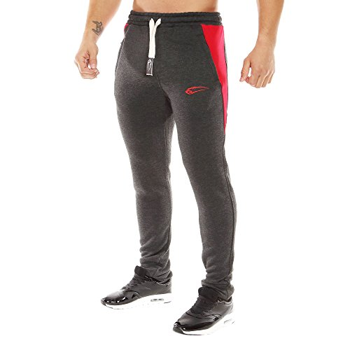 e0f4557edb9f87 SMILODOX Slim Fit Herren Jogginghose  Dimension  Trainingshose für ...