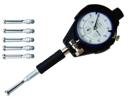Mitutoyo 526-126 Präzisions-Innenmessgerät mit Messuhr, 7-10 mm