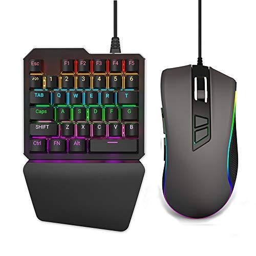 Delta Essentials Tastatur- und Mausadapter für PS4/PS3/Xbox One/Nintendo Swith