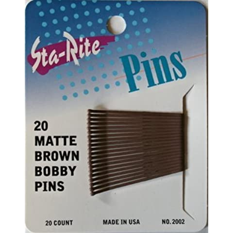 Sta-Rite Matte Brown Bobby Pins 2 20 ct by Sta-Rite - Sta Rite Pins