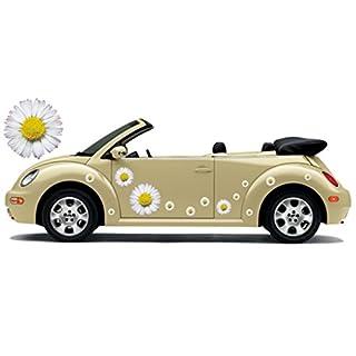 Autoaufkleber, Flower Power, Hippie Blumen, Flower Set 06 (16)