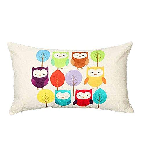 Sencillo Vida Fundas De Cojin Almohada Caso de Lino Pillow Case Sofa Cushion...