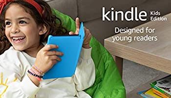 Kindle Kids Edition   Includes access to over a thousand books, Blue Cover