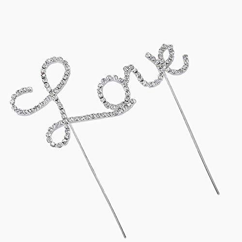 Hilai Schreiben Love-Muster-Kuchen-Deckel Dekoration für Hochzeit/Verlobung / Geburtstags-Party