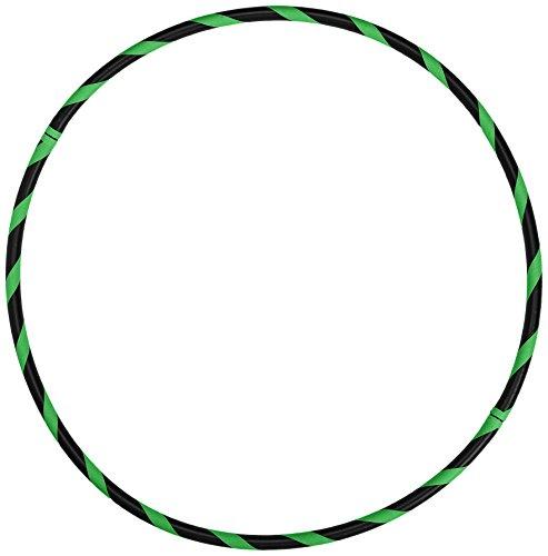 Hoopomania Fitness Hula Hoop Reifen, Neon Grün, 105 cm