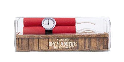 Radiergummi Collection Dynamit einzeln verpackt 8,5x3,8x3,2cm - Liefermenge 24 Stück