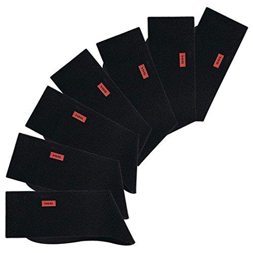 HIS, 7 Paar Herren Socken für Freizeit und Establishment, H.I.S (39/42, 7 x schwarz)