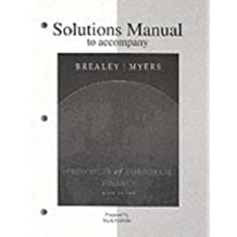 Principles of Corporate Finance, Solutions Manual