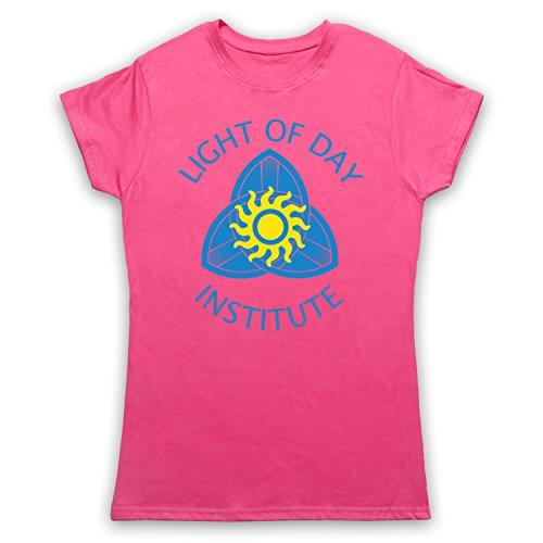 Inspiriert durch True Blood Light Of Day Institute Unofficial Damen T-Shirt Rosa