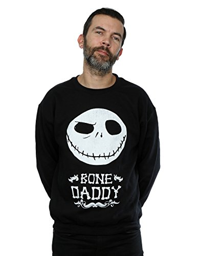 Disney Homme Nightmare Before Christmas Bone Daddy Sweat-Shirt
