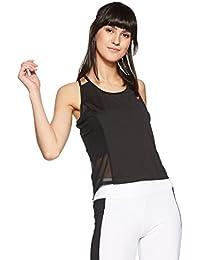 Just F by Jacqueline Fernandez Women's Plain Regular Fit Vest Top