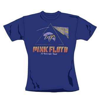 PINK FLOYD - ANIMALS TOUR FLYING PIG Girlie Shirt, Größe XL
