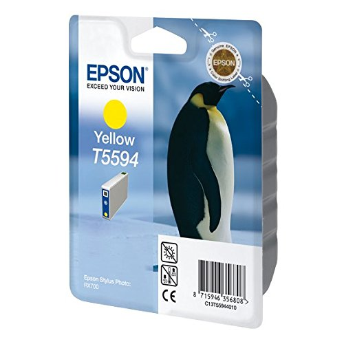 EPSON T559 Cartouche d'encre d'origine Jaune