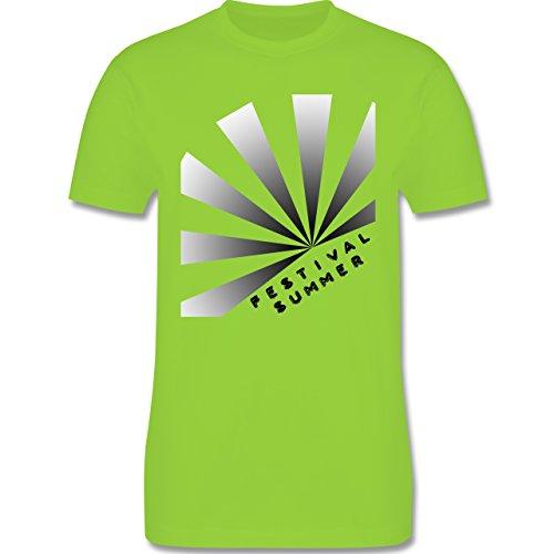 Festival - Festival Summer - Herren Premium T-Shirt Hellgrün