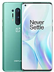 "OnePlus 8 Pro Smartphone Glacial Green 6.78"" 3D Fluid AMOLED Display 120Hz, 12 GB RAM + 256 GB Memoria, Fotoca"