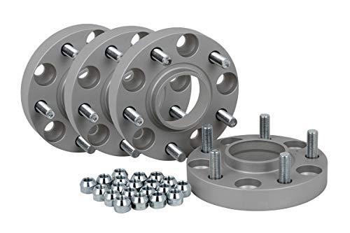 Spurverbreiterung Aluminium 4 Stück (20 mm pro Scheibe / 40 mm pro Achse) incl. TÜV-Teilegutachten