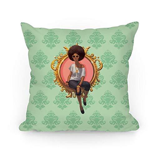 (Bixungan Class & Confidence Throw Pillow Covers Cushion Case 18x18 inches)