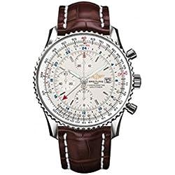 Breitling Navitimer mundo GMT Mens Reloj a2432212/G571