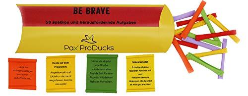 Pax ProDucks - Be Brave 50 kraftvolle und spaßige Abenteuer ☀️   ❤ Geschenk - für Abenteurer, Herzensmenschen und Leute, die Inspiration suchen