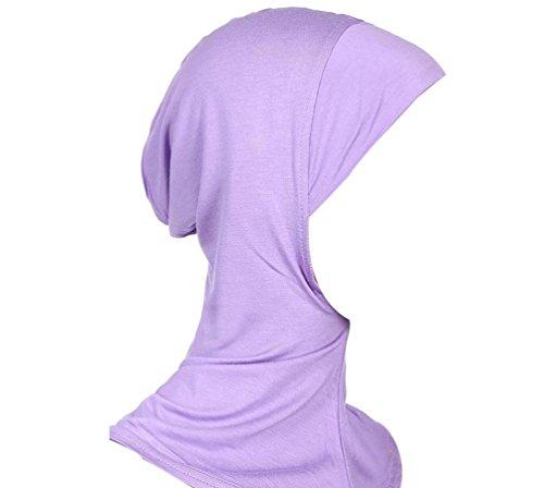Islamisch Stil Kopftuch Hijab kopft/ücher Leicht Unter Schal Knochen Bonnet