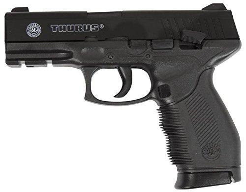 Preisvergleich Produktbild Replique Pistole Kugelpistole Taurus PT24 / 7 Spring Cybergun Buch mit seinen zwei Ladegeräte Metal