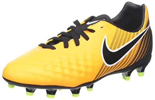 Nike Unisex-Kinder Jr. Magista Onda II FG Fußballschuhe, Orange (Laser Orange/Black-White-Volt), 37.5 EU (Fußball Schuhe Jungen Nike)