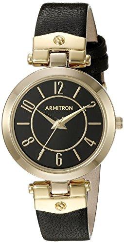 armitron-75-5338correa-de-cuero-reloj-de-la-mujer