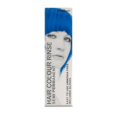 Stargazer Semi-Permanent Hair Colour Dye x 2 Packs Coral Blue by (Farbe Semi Haar Permanente)