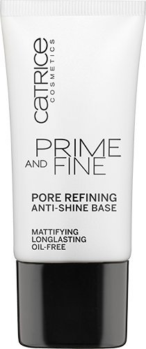 Catrice Cosmetics Prime and Fine Pore Refining Anti-Shine Base mattifying longlsting oil-Free Primer leichte Grundierung für optisch verfeinerte Poren. Inhalt: 30ml Make Up Base Primer