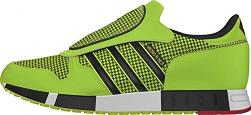adidas Originals Micropacer OG Chaussures Hommes Vert S77305 solar yellow/jungle ink/tomato