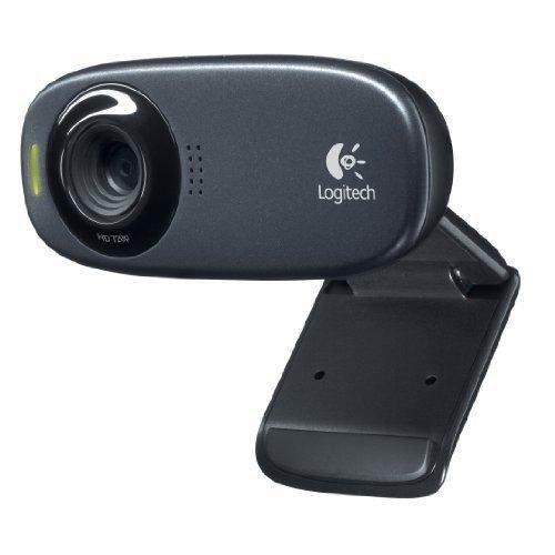 Logitech C310 - Webcam HD 720p, color negro