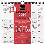 Finocam 780060019 - Calendario de pared 2019