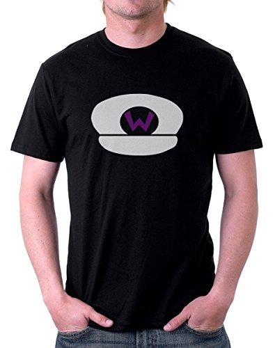 t-shirt GRIGIA - Wario Hat - S M L XL XXL maglietta by tshirteria nero