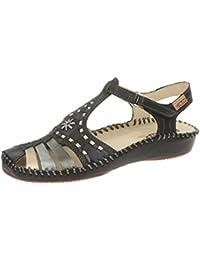 Pikolinos 655-1500c2 Black - Sandalias de vestir de Piel para mujer