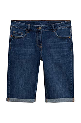 next Damen Knielange Shorts – Tall Mittel Blau EU 48 Tall (UK 20T)