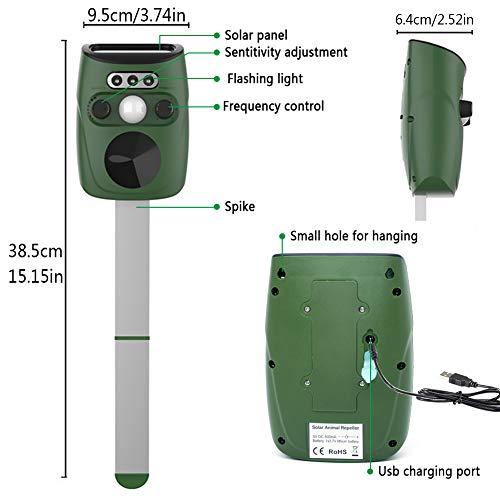 Zoom IMG-3 glamsvill repellente per gatti energia