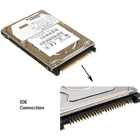NotebookWebsite.com - Disco duro para ordenador portátil compatible con Dell Latitude D400, D410, D500, D610, D800, D810, X200 y X300 (80 GB)