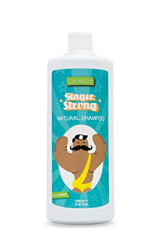 Cuidados Champú Jengibre Ginger Strong, Estimulante capilar. Anticaspa - 1 litro