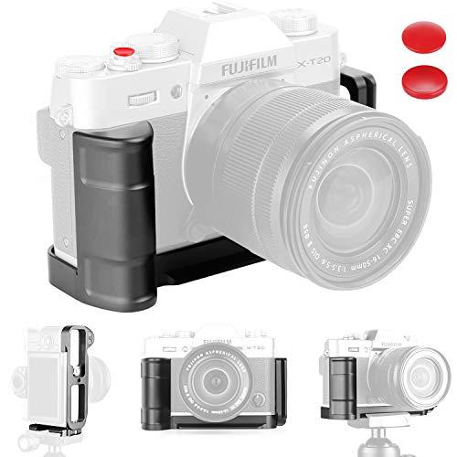 XT10 Grip Vertikale Schießen Handgriff QR Schnellverschluss L Platte Kamera Halterung Halter für Fuji Fujifilm XT10 X T10 X-T10 XT20 X T20 X-T20 -
