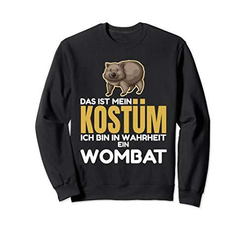 Tier Australische Kostüm - Das Ist Mein Kostüm Ich Bin In Wahrheit Ein Wombat Sweatshirt