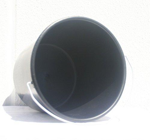 Nölle Haushaltseimer schwarz 10 Liter Putzeimer Eimer Profi Haushalt