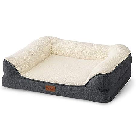 Bedsure Hundesofa Hundecouch für kleine/mittlere/große Hunde Hundebett Memory Foam orthopädisch