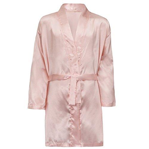 BrandBuys - Robe de chambre - Femme rose pâle