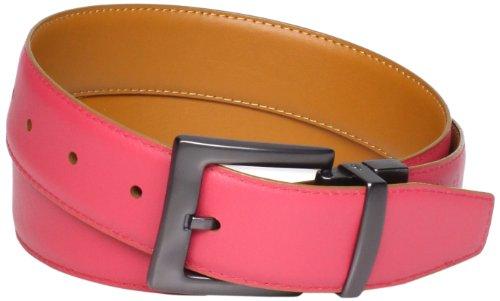 Original Penguin Men's Reversible Leather Belt, Tan, 38